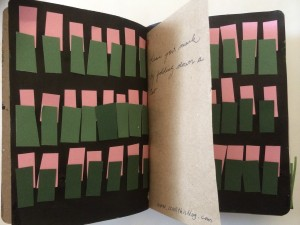 Sketchbook Project - Tabs by Richelle Himaya